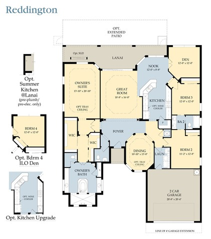 Reddington Floor Plan