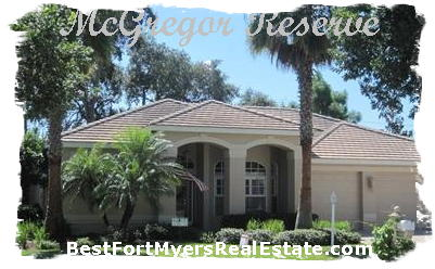 Mcgregor Reserve Fort Myers FL 33901 Real Estate
