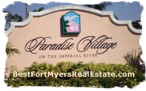 paradise village bonita springs, fl for sale