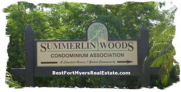 Summerlin Woods Fort Myers 33919 Real Estate