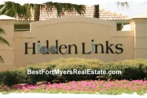 Hidden Links Gateway Fort Myers Real Estate for Sale