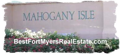 Mahogany Isle Gates Fort Myers fl 33913 Real Estate for sale