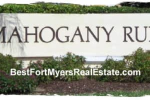 Mahogany Run Gateway Fort Myers Real Estate 33913