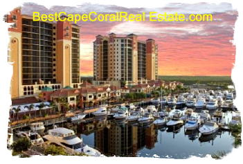 Cape Harbour Cape Coral condos and homes