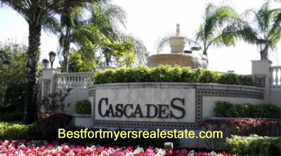 Cascades of Estero Florida homes