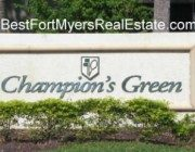 Champions Green Gateway Fort Myers Real Estate