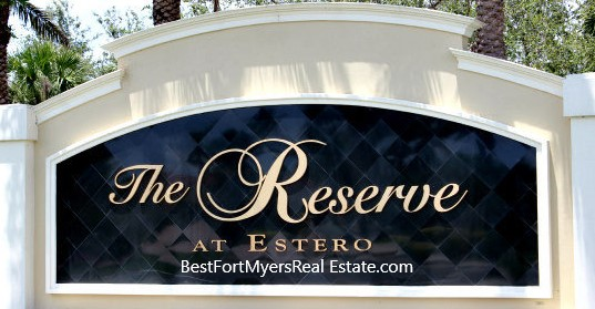 The Reserve at Estero Homes for Sale